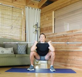 Barbell Front Squat benefits
